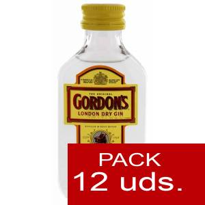 1 Ginebra - Ginebra Gordon´s London Dry Gin 5cl - PT 1 PACK DE 12 UDS
