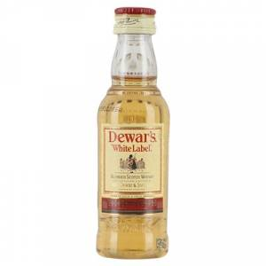 Whisky - Whisky Dewar´s White Label 5cl